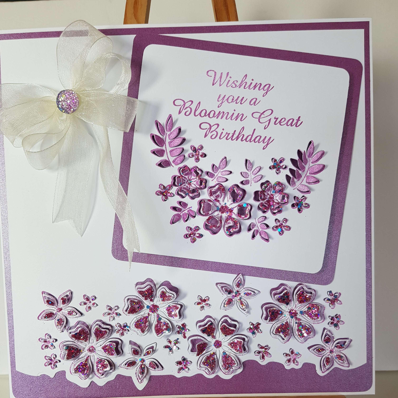 beautiful handmade birthday card