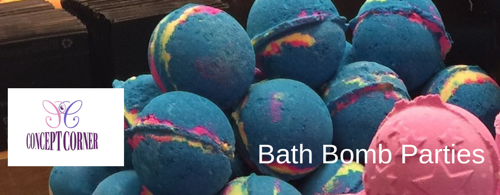 Bath Bomb Parties in Wirral