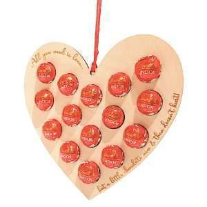 Valentines love heart - Lindt chocolates